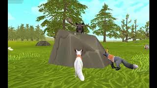 Играем в wildcraft (симулятор диких животных+онлайн) Как убить древнего лося?