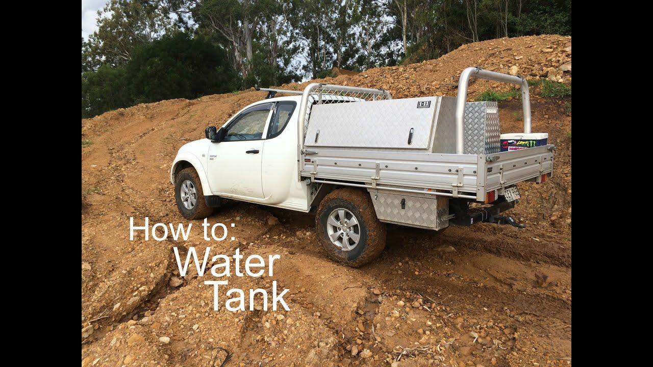 Under Tray Water Tank 108