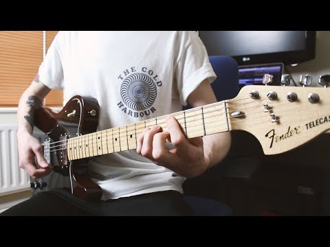 Blink 182 - Wendy Clear (Guitar Cover - HD)