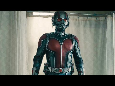 Ant-Man's First Suit Up In The Bathroom Scene - ANT-MAN (2015) Movie Clip