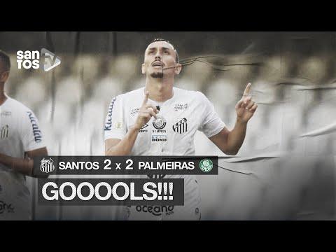 SANTOS 2 X 2 PALMEIRAS   GOLS   BRASILEIRÃO (05/12/20)