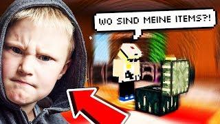 Pascal (15) - Findet seine Minecraft Items nicht