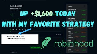 $1600 TODAY WITH THESE STOCKS (MY WATCHLIST) | ROBINHOOD INVESTING