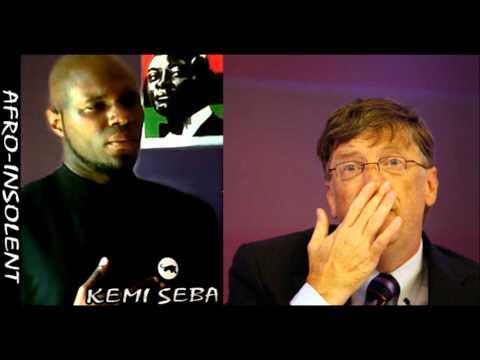 """Kemi Seba : """"Bill Gates, l'oligarchie et l'humanitaire en Afrique"""""""