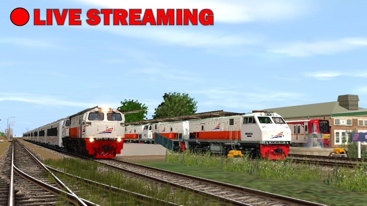 🔴 [LIVE] Dinas Kereta Lintas Jakarta - Cikampek | Trainz Simulator Indonesia