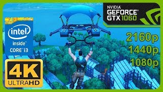Fortnite GamePlay in NVIDIA GeForce GTX 1060 + i3 Processors