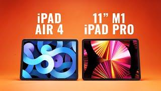 "WHY PAY MORE?! iPad Air 4 vs 11"" M1 iPad Pro"
