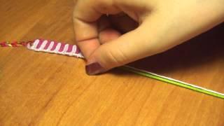 Плетение фенечек: Видео урок #1