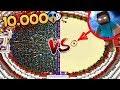 1000 STEVE VS 1 HEROBRİNE - Minecraft