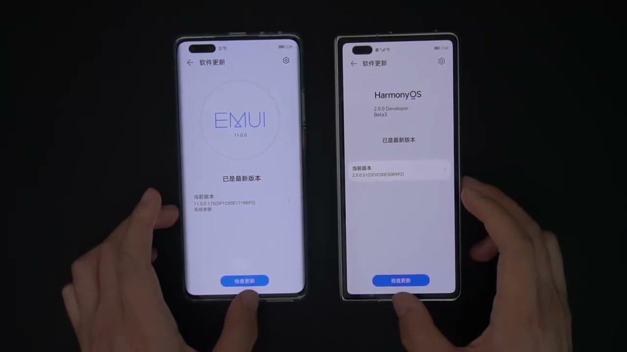 Чем Harmony OS отличается от EMUI 11