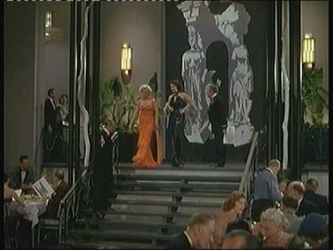 Gentlemen stare at Jane Russell and Marilyn Monroe.mpg