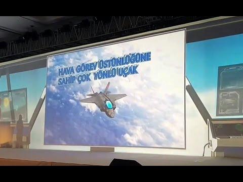 1. Türk Havacılık ve Uzay Çalıştayı | MMU - Milli Muharip Uçak Video Sunumu