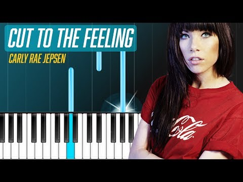"Carly Rae Jepsen - ""Cut To The Feeling"" Piano Tutorial & Lyrics - Chords - How To Play - Cover"