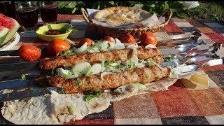 Люля-кебаб из свинины на мангале!