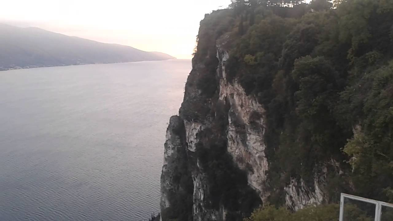 TREMOSINE Terrazza del Brivido - YouTube