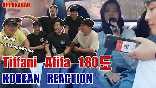 Download Mp3  Reaksi  Busan Korean Guys Reacts To 180도  180 Degree  - Tiffani Afifa Gudang lagu
