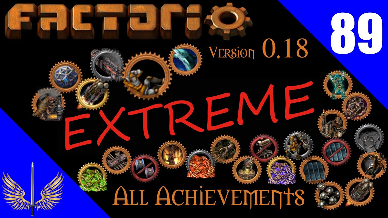 Factorio - All Achievement Run Extreme - Deathworld  - Episode 89