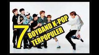 7 BOYBAND TERPOPULER SEJAK K POP MULAI BOOMING