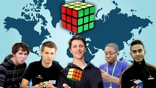 Rubik's Cube  Records By Continents