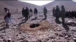 Казнь через забивание камнями (Афганистан) 3.11.2015