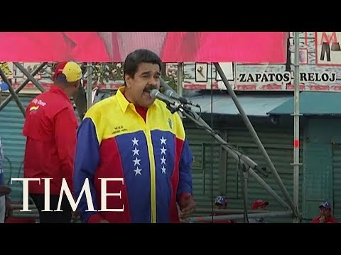 Trump Administration Reportedly Met With Venezuela Military Coup Plotters | TIME