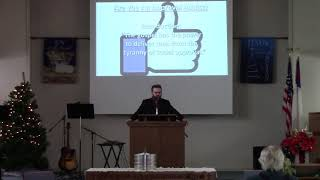 January 3, 2021 Sermon from Calvary Bible Church.