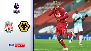 Reds-Spektakel bei Fan-Rückkehr | FC Liverpool - Wolverhampton 4-0 | Highlights - Premier League