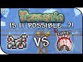 ❓ IS IT POSSIBLE...?! | Mechanical Cart VS EXPERT Eye Of Cthulhu | Terraria Boss Battles