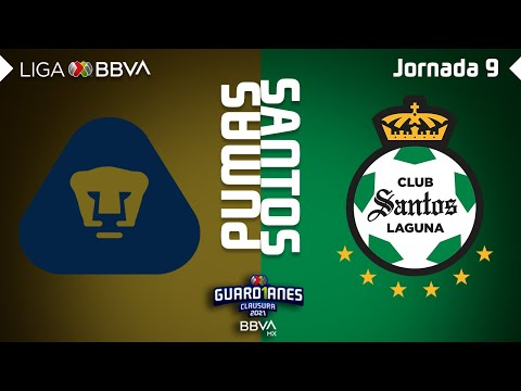 U.N.A.M. Pumas Santos Laguna Goals And Highlights
