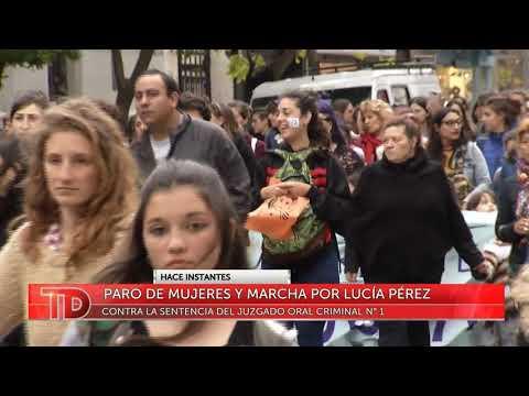 Paro de mujeres y marcha por Lucía Pérez en Mar del Plata