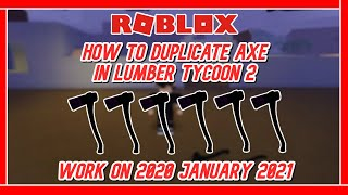 Solo Duplikat Axt ?? : ROBLOX - LUMBER TYCOON 2