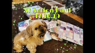 XL Action HAUL, 17.10.19 { Neue Die Cuts, Neue Glitzer Sticker etc. } !
