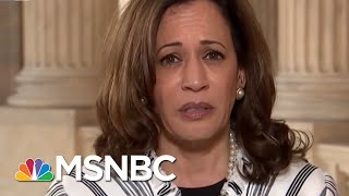 "Sen. Kamala Harris: Trump's ""Intent"" To Put ""Children In Cages"" 