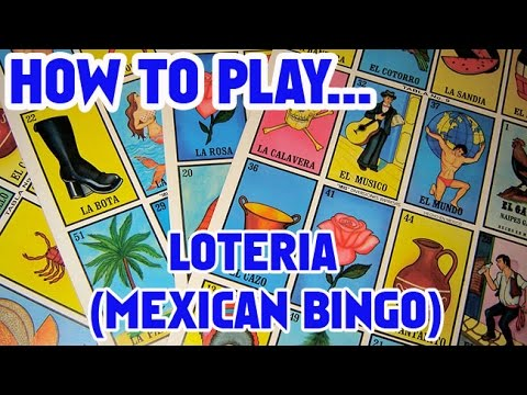 Unboxing and How To Play Loteria (Mexican Bingo) from Pasatiempos Gallo