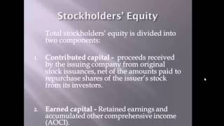 Operating Assets Liabilities and Shareholders Equity - Lecture 4