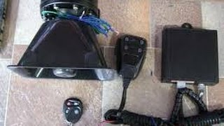 Автомобильный_сигнал_с_громкоговорителем(Купил недавно в Китае автомобильный сигнал с громкоговорителем. Обошелся всего в 20$ вот ссылочка откуда..., 2014-06-23T18:24:44.000Z)