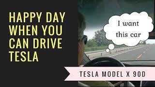 Tesla Model X 2018   My Test Drive