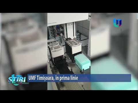 UMF Timișoara, în prima linie