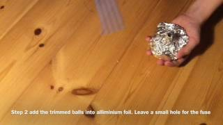 How To Make a Fire Bomb