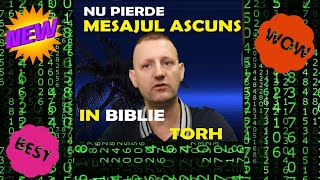 Nu pierde , Mesajul ascuns in Biblie , Tora.