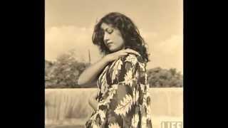 Madhubala Glamour Photoshoot by Life Magazine Photographer James Burke   1951
