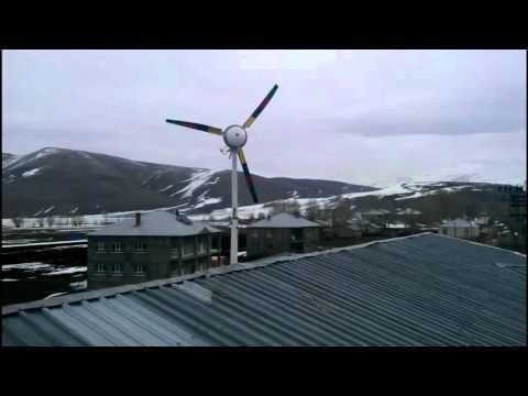 Rüzgar Gülü - Rüzgar Enerjisi