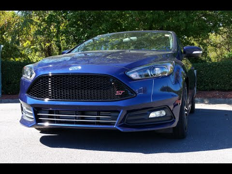 2016 ford focus st start up exhaust and review youtube. Black Bedroom Furniture Sets. Home Design Ideas