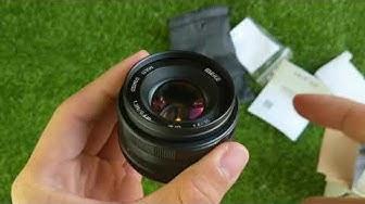 Trên tay lens Meike 35mm F1.4 đầu tiên ở Việt Nam - Review Lens Meike 35mm F1.4
