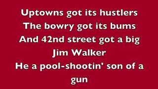 Don't mess around with Jim with lyrics