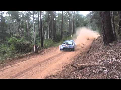 WRC Rally Australia 2015 Day 1 Highlights