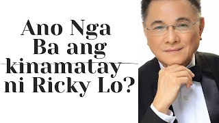 Cause of Death Ni Ricky Lo