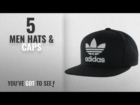 Adidas Originals Hats & Caps [ Winter 2018 ]: Adidas Men's Originals Snapback Flatbrim Cap,