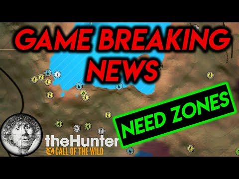 CHANGES to NEED ZONES!! Lion Update - Game Breaking News #8 [TheHunter: Call of the Wild 2019]