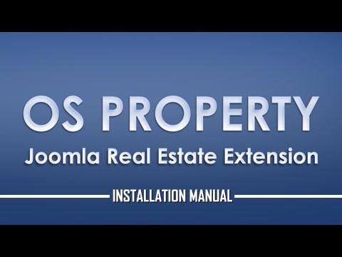 OS Property | Joomla Real Estate Extension: Installation Steps